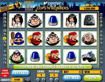 Cops And Robbers slot 163702